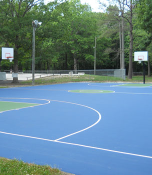 Basketball Court Builders In Pennsylvania Usa Sport Builders