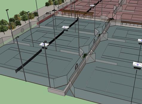 outdoor tennis court lighting design clay hard and synthetics tennis court design construction sport builders